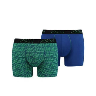 Men PUMA OPTICAL LOGO AOP BOXER 2P