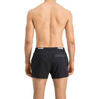 PUMA SWIM MEN LOGO SHORT LENGTH SWIM SHORTS 1P