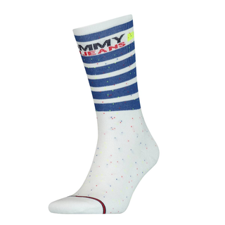 TH UNISEX TOMMY JEANS SOCK 1P STRIPE