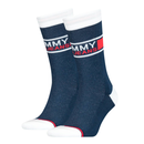 TH UNISEX TOMMY JEANS SOCK 2P navy 39/42