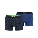 LEVIS MEN TRIPLE LOGO AOP NEON BOXER BRIEF 2P blue XL