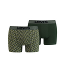 LEVIS MEN SNAKE CORD AOP BOXER BRIEF 2P khaki XL